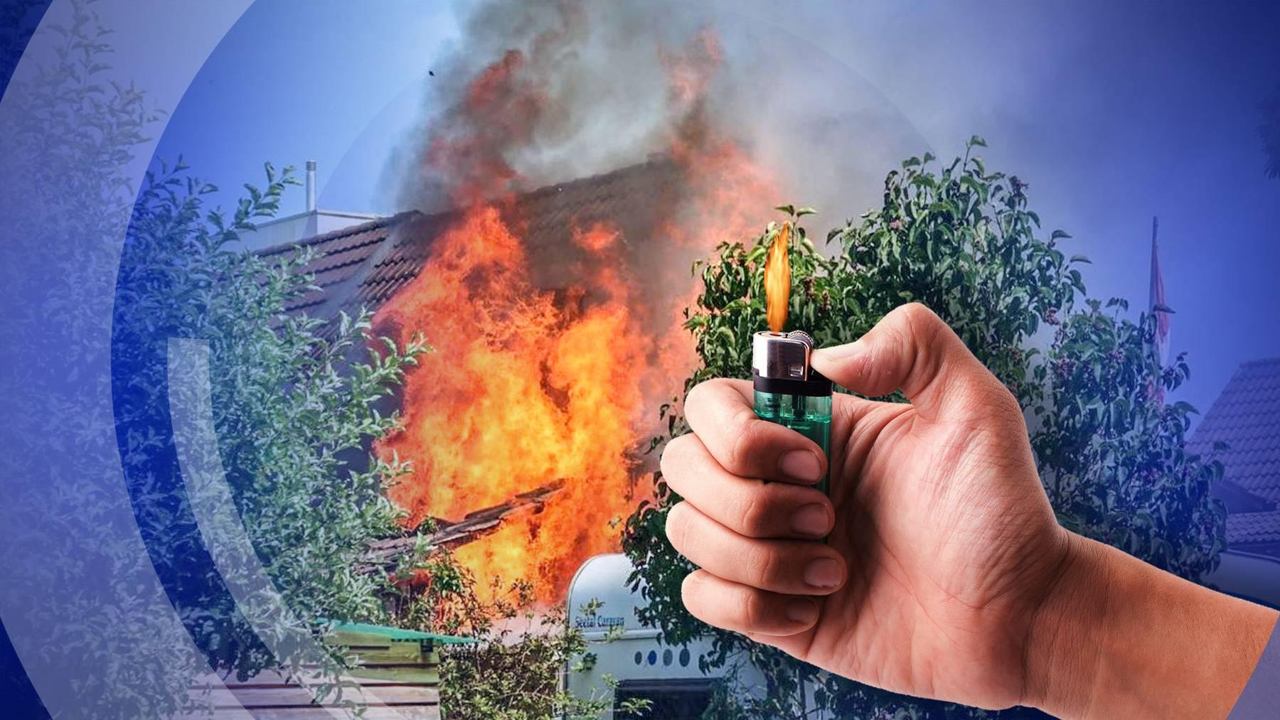 Brandstiftung in Zofingen