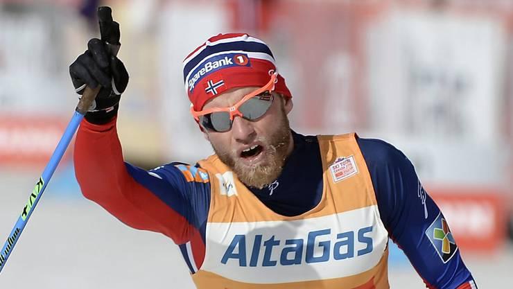 Doping-Sünder Martin Johnsrud Sundby verliert seinen Tour-de-Ski-Sieg.
