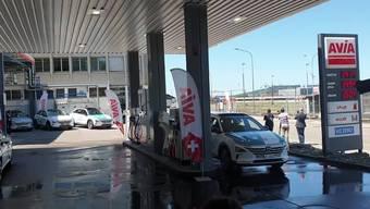 Endlich Wasserstoff an Schweizer Tankstellen. (Symbolbild).