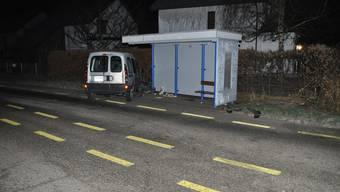 Alkoholisierter Autounfall in Laupersdorf
