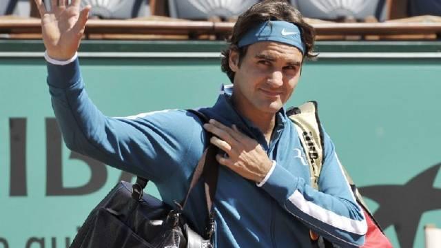 Roger Federer bekundete gegen den Australier Peter Luczak nur gerade im ersten Satz etwas Mühe