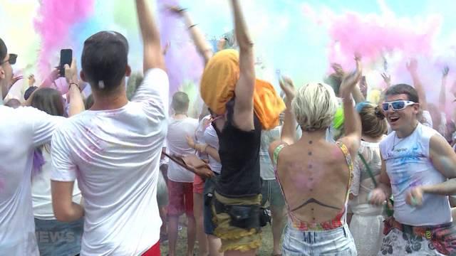 Farbfest begeistert Biel