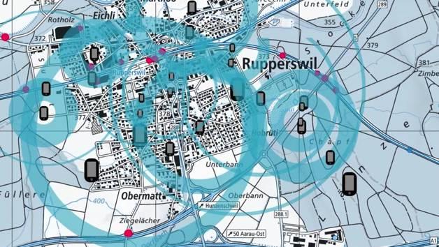 Die Ermittler überprüfen im Fall Rupperswil die Daten von 30'000 Handynutzern. (Symbolbild)