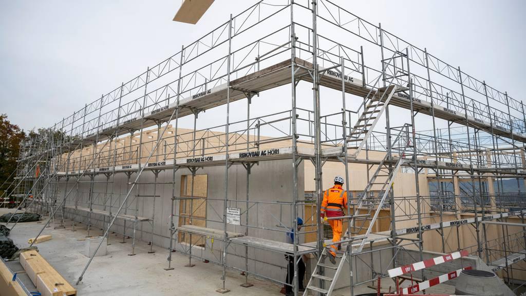 Die Löhne im Baugewerbe sind im laufenden Jahr angestiegen.