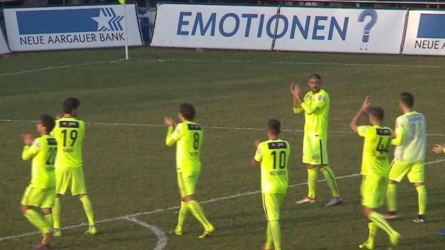 FC Aarau gewinnt Derby