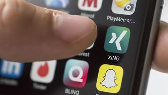 Xing wächst - auch in der Schweiz. Inzwischen zählt das berufliche Netzwerk hierzulande über 1,1 Millionen Mitglieder.