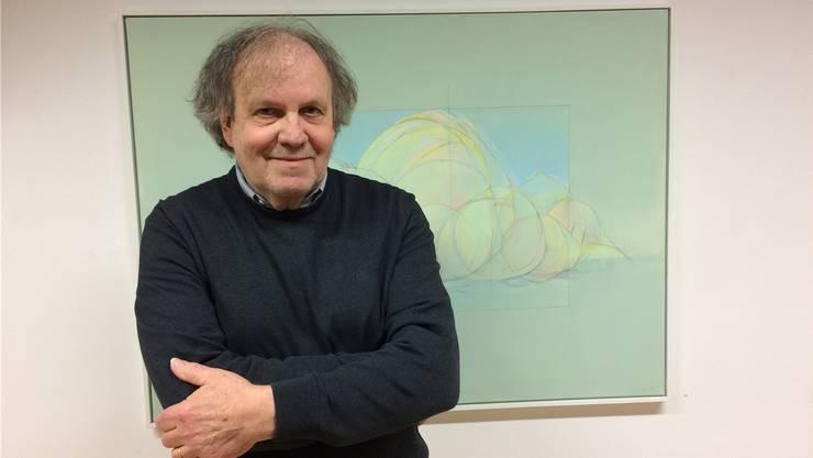 Oskar Fluri aus Bolken stellt in der Galerie Näijerehuus in Hersiwil aus.