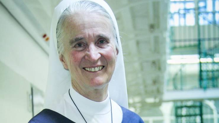 Schwester Iniga, Nonne vom Kloster Baldegg, war während zwölf Jahren Gefängnis-Seelsorgerin in der Strafanstalt Lenzburg. Aline Wüst