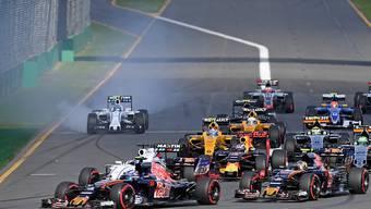 Der Auftakt in die Formel-1-Saison 2017 erfolgt wie gewohnt in Melbourne