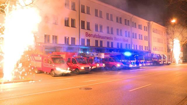 Feuerwehr hornt 2019 mit Riesen-Radau ein