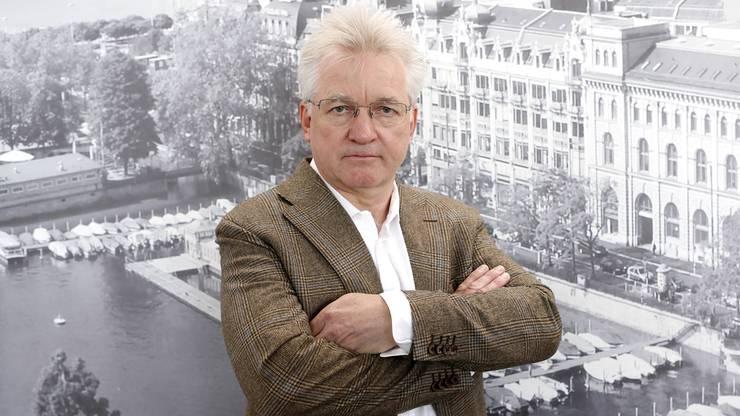 Der geschasste ERZ-Direktor Urs Pauli. Ein teurer Dienstwagen wurde ihm zum Verhängnis.