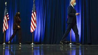 Joe Biden und Kamala Harris.