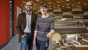 Manuel Guizar-Sicairos und Claire Donnelly waren Teil des Forscherteams.