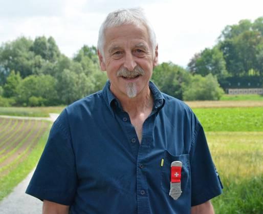 Kranz mit dem Punktemaximum herausgeschossen: Willy Keusch war der beste von 10'395 Aargauer Teilnehmern am Feldschiessen mit dem Gewehr.