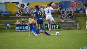 Es war ein hart umkämpftes Spiel zwischen dem SC Derendingen-Solothurn und den Frauen FC Zürich U21.