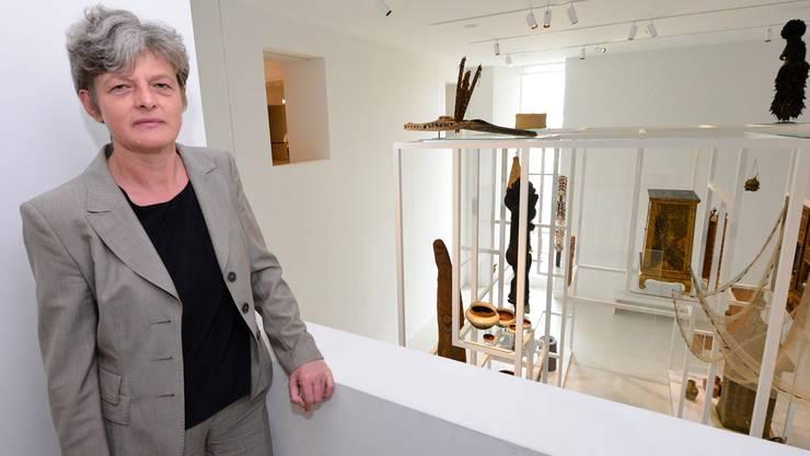 Museumsdirektorin Anna Schmid will einen weiteren Streit mit Architekt Jacques Herzog vermeiden.  Nicole Nars-Zimmer