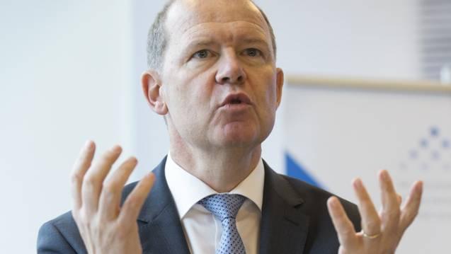 Arbeitgeberpräsident Valentin Vogt: Die Situation auf dem Arbeitsmarkt sei so gut, dass die GE-Angestellten schnell einen neuen Job finden werden.