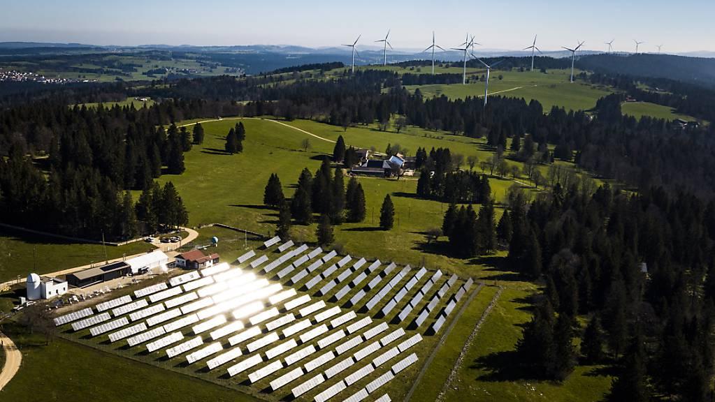 Die grosse Mehrheit der Schweizer Bevölkerung sieht die künftige Energieversorgung einheimisch und erneuerbar. (Themenbild)