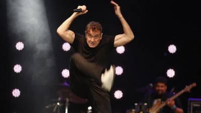 """Der Musiker und Tänzer Johnny Clegg wurde """"Der weisse Zulu"""" genannt."""