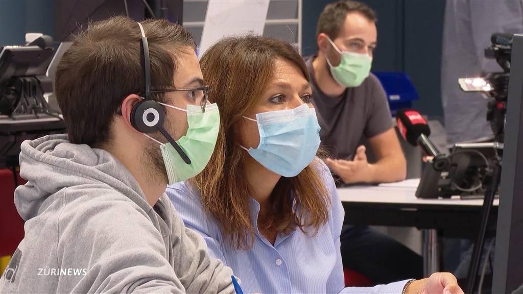 Contact Tracing: So will Zürich die steigenden Fallzahlen handhaben