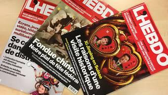 """Das Westschweizer Wochenmagazin """"L'Hebdo"""" wird eingestellt. 37 Mitarbeitende in Redaktion und Verlag verlieren dadurch ihre Stelle, wie Ringier Axel Springer Schweiz am Montag mitteilte."""