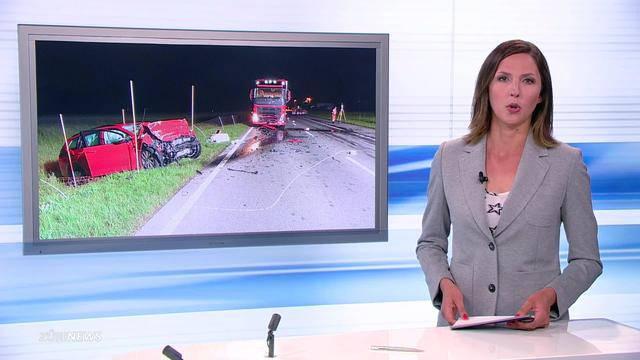 Tödlicher Frontalcrash in Niederweningen