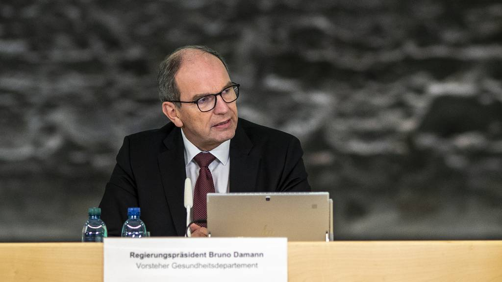 Bruno Damann, St.Galler Regierungspräsident und Vorsteher des Gesundheitsdepartements