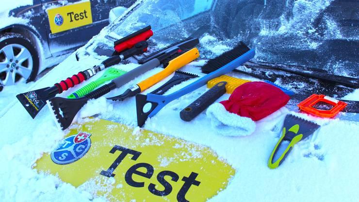 Eiskratzer-Test des TCS