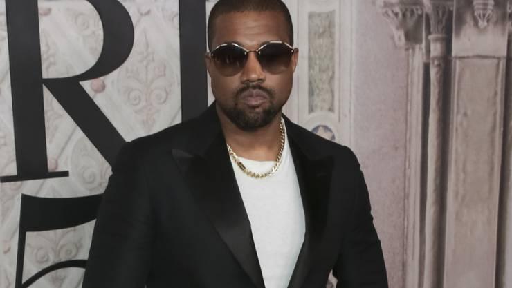 Kanye West an Bob Dylan, Kanye West an Bob Dylan: Der US-Rapper (Bild) hat via Twitter Kontakt mit dem Literaturnobelpreisträger aufgenommen. (Archivbild)