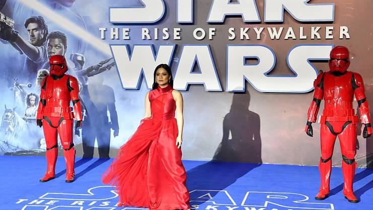 Der neueste Star-Wars-Film ist am Debüt-Wochenende schwächer in den Kinos gestartet als Beiträge aus der gleichen Serie. (Symbolbild)