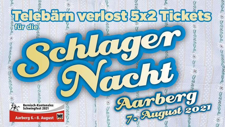Wettbewerb: Unterhaltungsabend vom Bernisch-Kantonalen Schwingfest