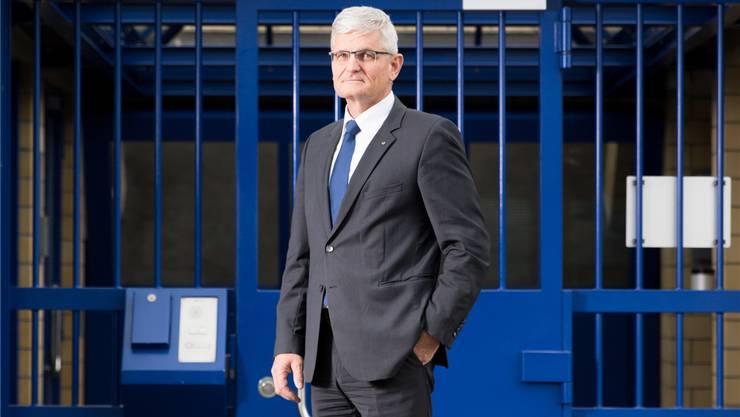 Seit fünf Jahren ist Andreas Naegeli Direktor der Zürcher Justizvollzugsanstalt Pöschwies.
