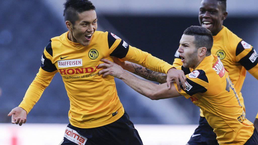 Yuya Kubo war für den Berner Ausgleich im Spiel gegen den FCZ verantwortlich