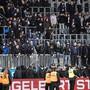 """GC-""""Fans"""" machten sich auch in Luzern ans Werk - und machten GCs bitteren Tag zu einem noch bittereren"""
