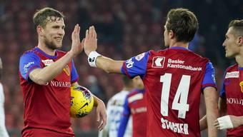 Zwischen Fabian Frei und Valentin Stocker herrscht im Klassiker eine Dynamik, welche die ganze Mannschaft belebt.