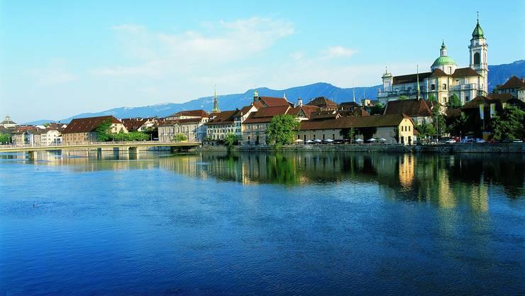 Blick auf die Stadt Solothurn