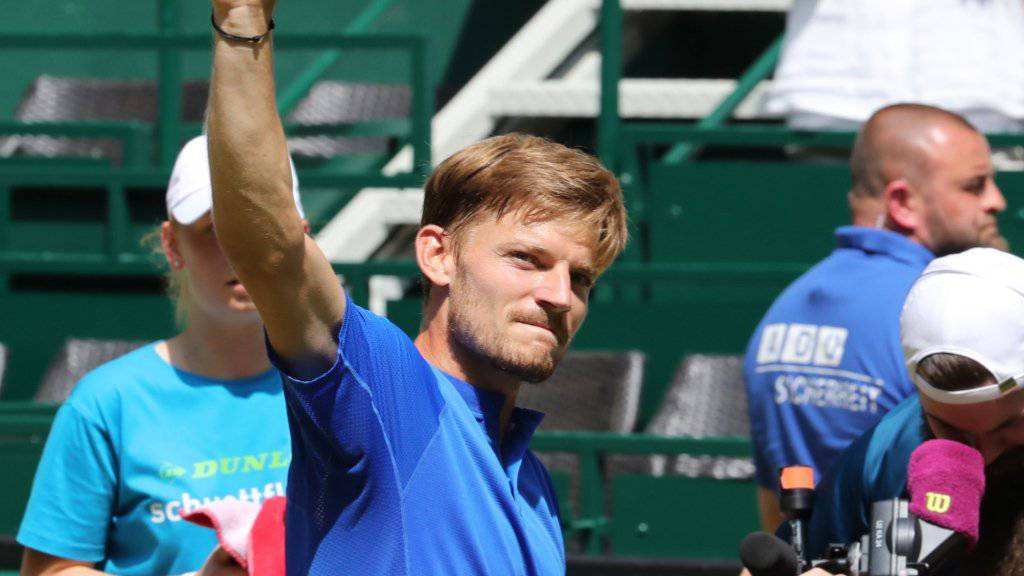 Im Final bekommt es Federer mit dem Belgier David Goffin zu tun