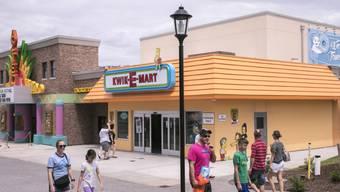 """Der Supermark """"Kwik-E-Mart"""" aus der TV-Zeichentrickserie """"Die Simpsons"""" ist in Myrtle Beach in echt nachgebaut worden. (Archivbild)"""