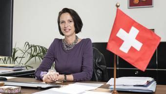 Christine Schraner-Burgener, Schweizer Botschafterin in Berlin, musste vor dem deutschen Aussenministerium antraben. (Archiv)