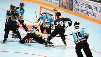 Im NLA-Halbfinal wartet wie schon 2018 Tuggen auf den HC Laupersdorf.