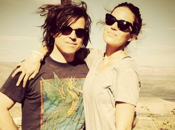 Mandy Moore und Ryan Adams.