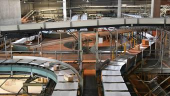 Am Mittwoch wurde im Paketzentrum Härkingen das milliardste Paket sortiert