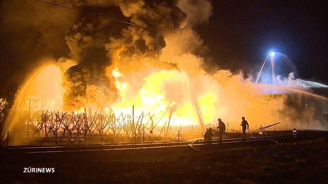 Sind Jugendliche für den Grossbrand in Egnach verantwortlich?