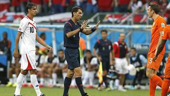 Rawschan Irmatow leitet das Viertelfinalspiel Holland - Costa Rica