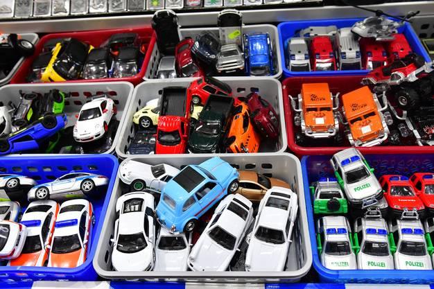 Der Klassiker: Spielzeugautos.