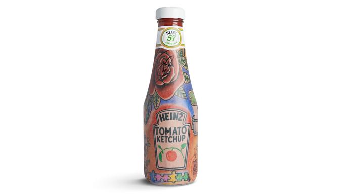 Eine eigene Ketchup-Flasche für Ed Sheeran