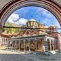 Das geschichtsträchtige Kloster Rila fasziniert Pilger und Touristen. Getty Images