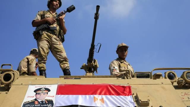 Ägyptens Armee erhält vorerst weniger Geld aus den USA (Archiv)