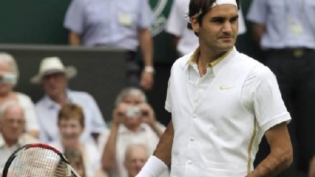 Elegant gekleideter Roger Federer zum Wimbledon-Auftakt