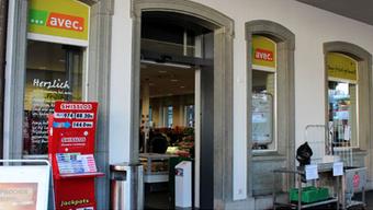 Das Geschäft am Hauptbahnhof konnte am Montag gegen 17 Uhr wieder geöffnet werden.